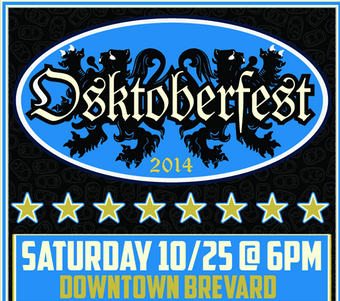 Oskar Blues Osktoberfest party returns to Brevard on Saturday
