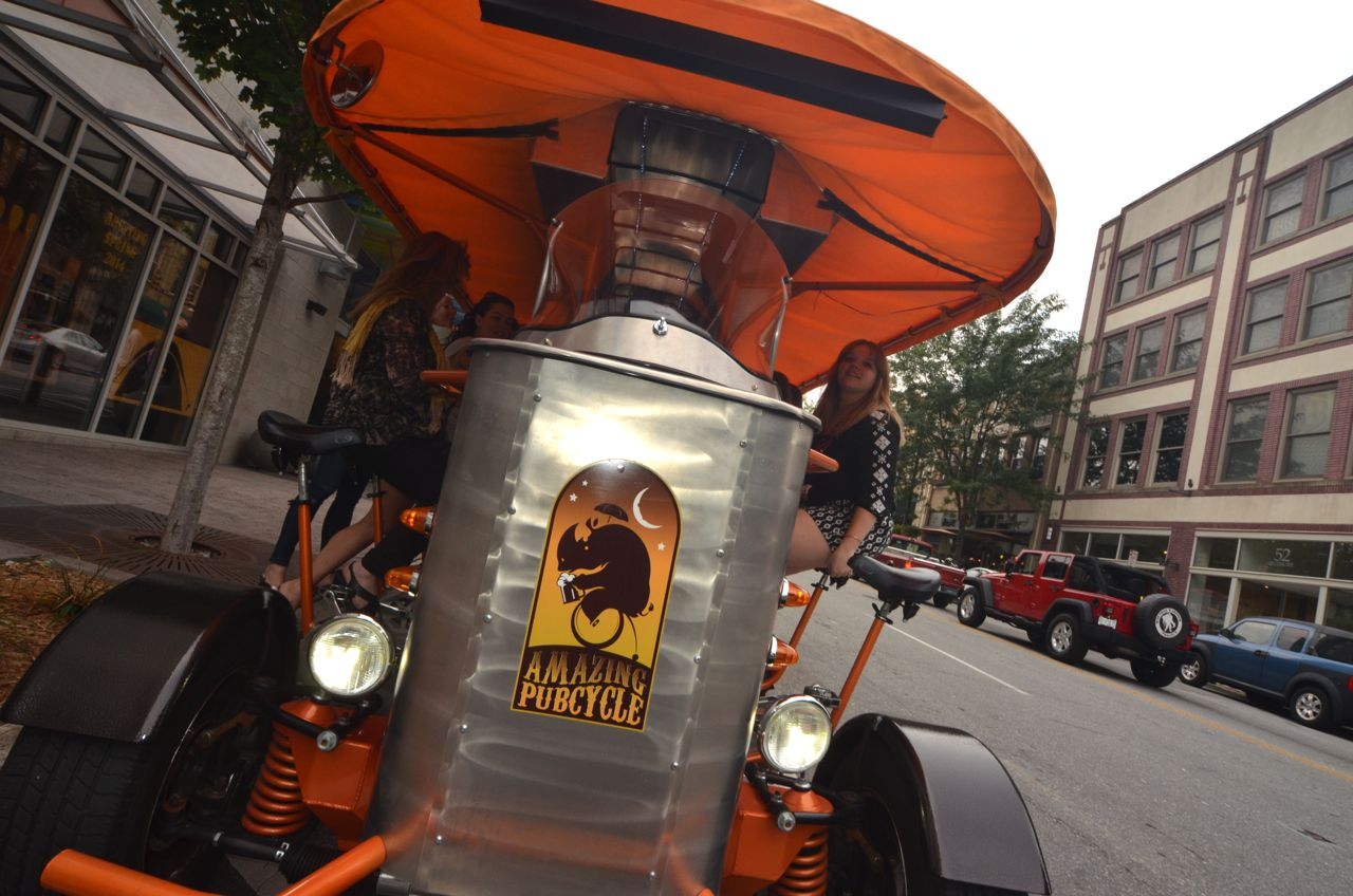 Asheville's Amazing Pubcycle looks to expand routes, entertainment offerings