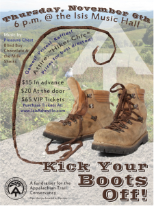 The Isis in West Asheville to host Appalachian Trail Conservancy fundraiser on Nov. 6