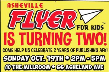Asheville Flyer for Kids celebrates two years of publishing on Sunday