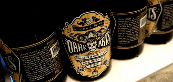 Wicked Weed in Asheville goes Halloween crazy with 15% ABV Dark Arts stout