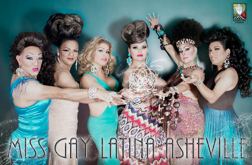 Miss Gay Latina pageant Saturday at Diana Wortham Theatre in Asheville
