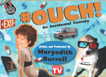 Maryedith Burrell stars in one-woman show, '#OUCH', at The BeBe Theatre in Asheville