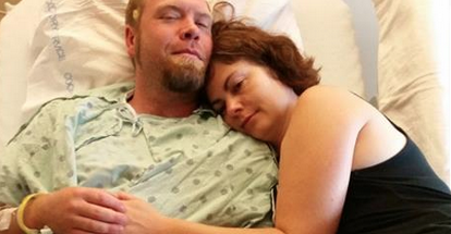 Asheville rallies around man suffering from lesions on his brain