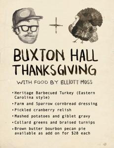 Buxton Hall Thanksgiving Splash