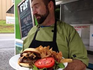 Farm to Fender burger