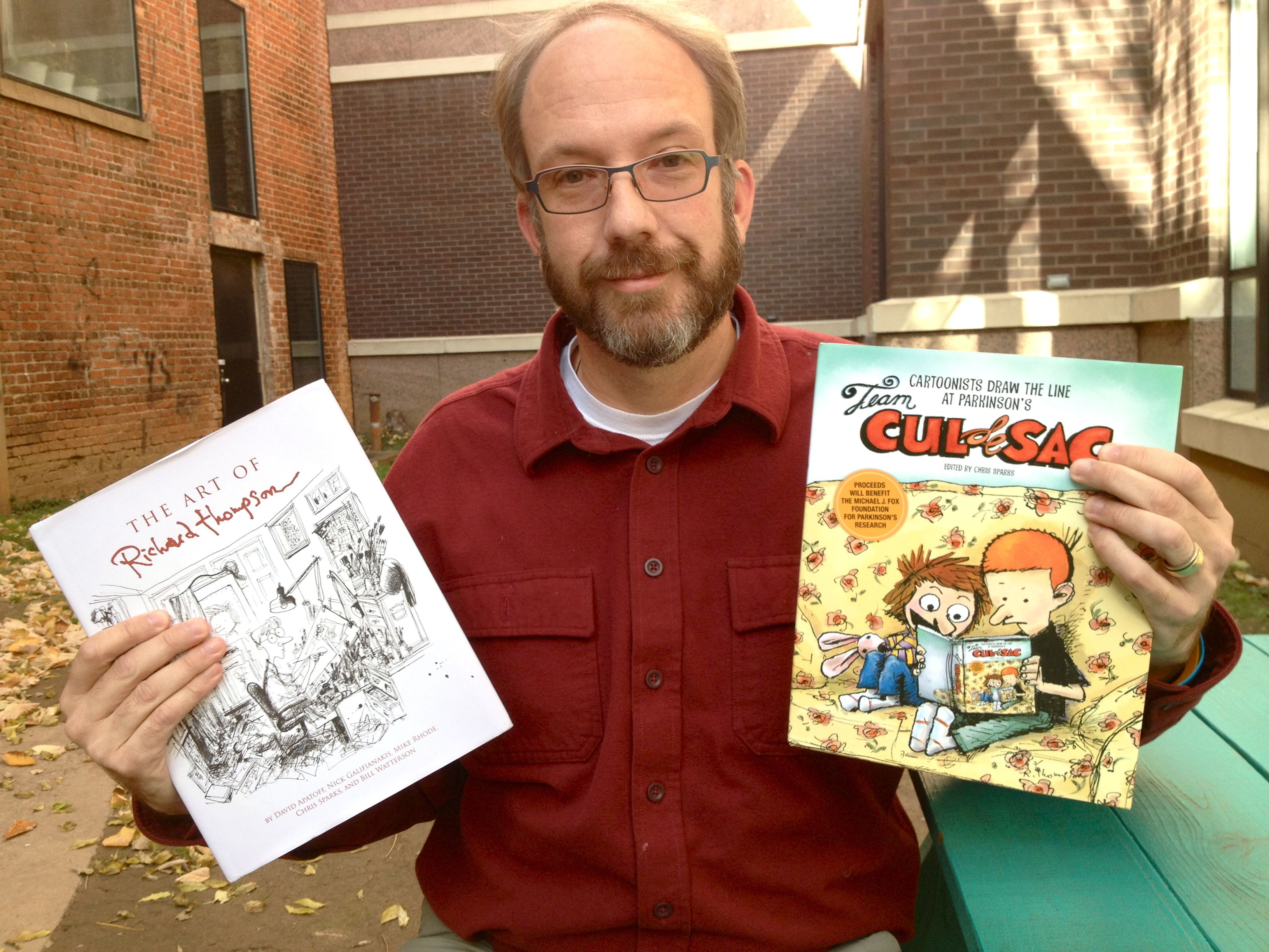 From fan to humanitarian: How Asheville web designer contributed to book honoring master illustrator/cartoonist