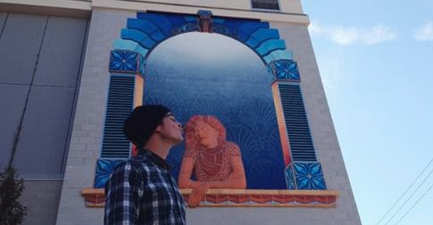 Crowd funding campaign aims to keep asheville artists out for Asheville mural project