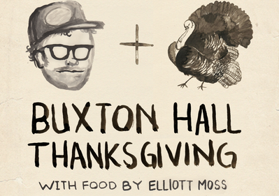 Chef Elliott Moss offering up the best damn Turkey Day dinner in Asheville