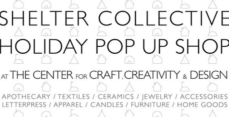 Shelter Collective to host holiday pop-up shop; also, Grace & Glory and Hazel Twenty hold sale