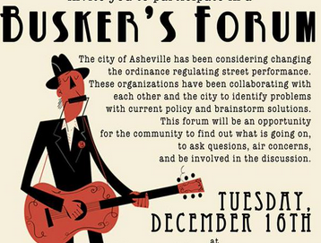 Ashvegas Hot Sheet: Busker forum Tuesday, Ethiopian restaurant taking reservations, more