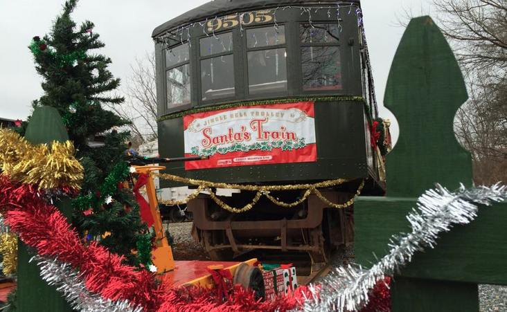 With passion for trains and trolleys, Asheville man engineers Christmas magic