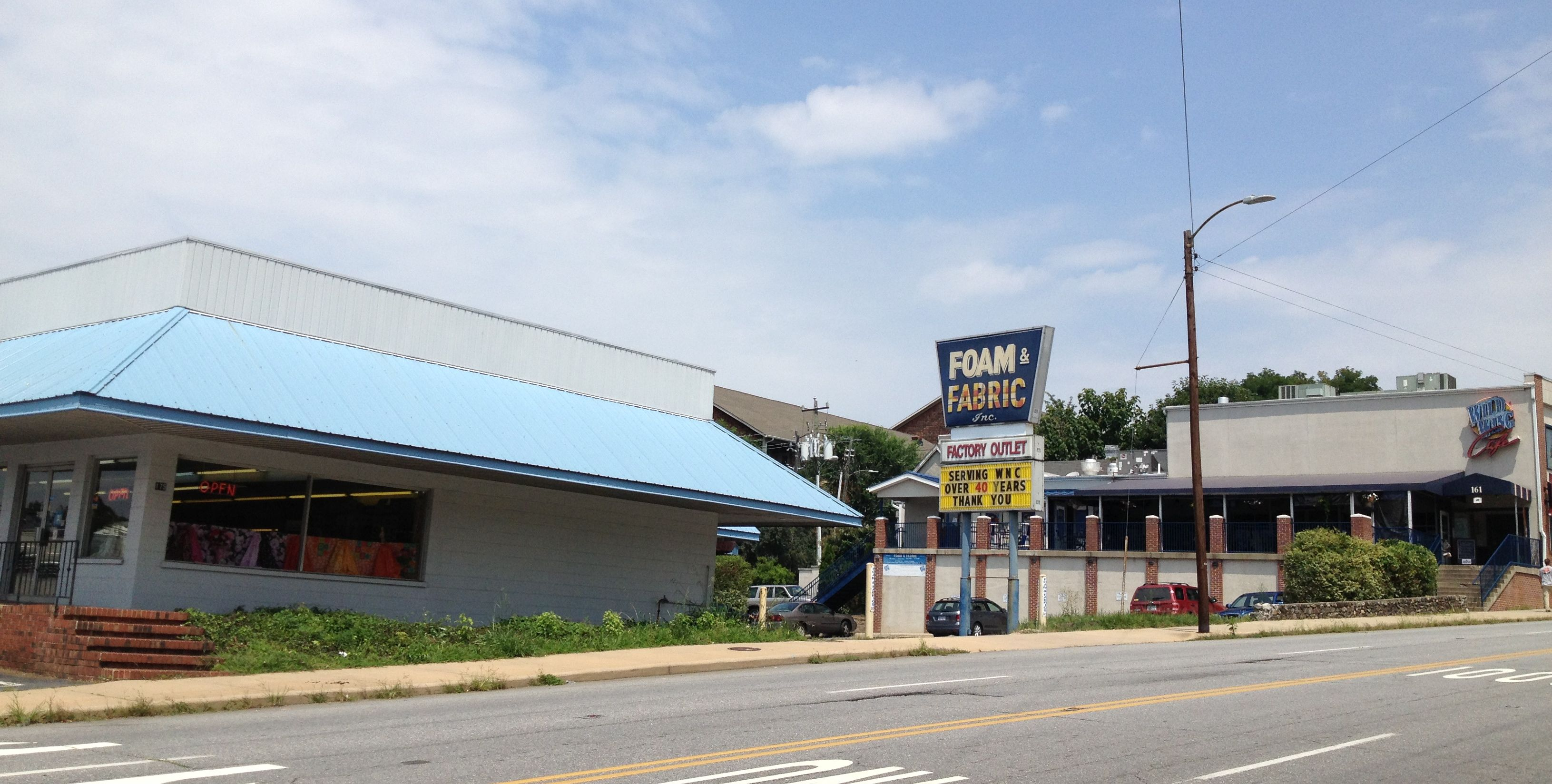 Word on the street: Foam and Fabric on Biltmore in downtown Asheville to close