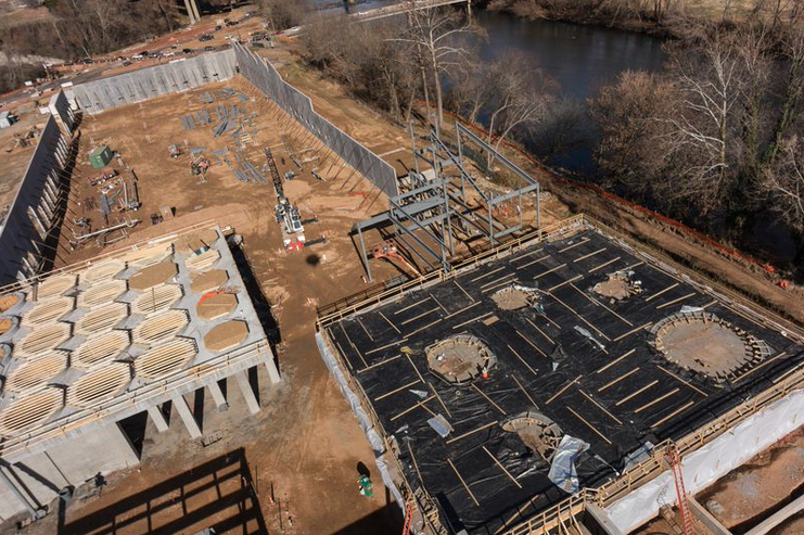 Richardson: Construction on New Belgium's Asheville brewery on track; brewing to start in late 2015
