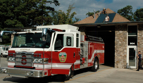 City looks to build new Asheville Fire Department station on Broadway