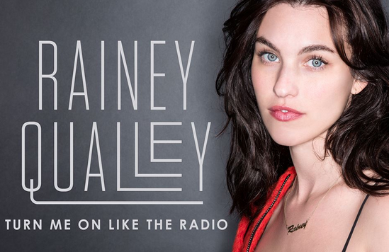 Ashvegas celebrity spotting: Rainey Qualley visits Asheville radio station to promote her country single