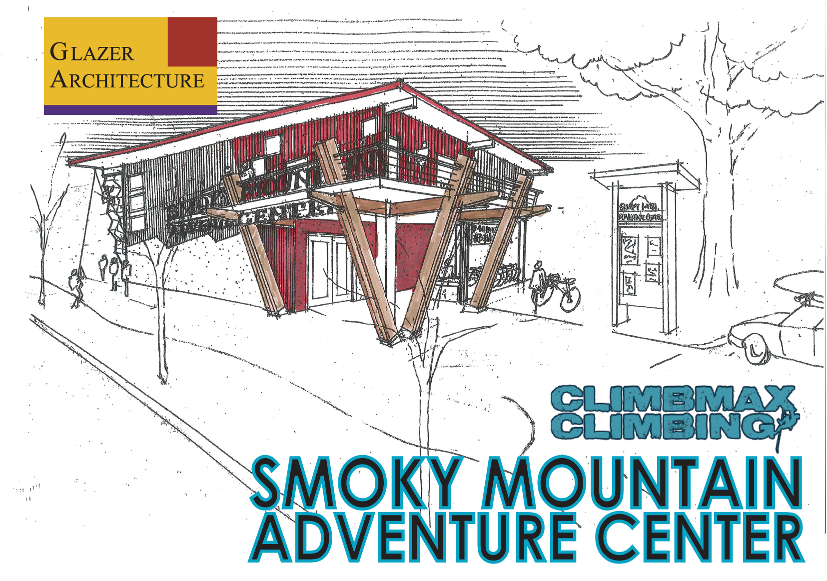 Asheville Pocket Guide: The new Smoky Mountain Adventure Center taking shape