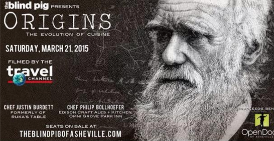 Travel Channel to film Blind Pig dinner in Asheville; tix on sale now