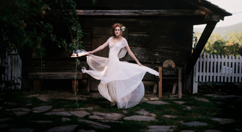 Wedding gown sample sale set at Ship to Shore in downtown Asheville