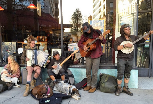 Regulate street performance hot spots in downtown Asheville, city staffers suggest