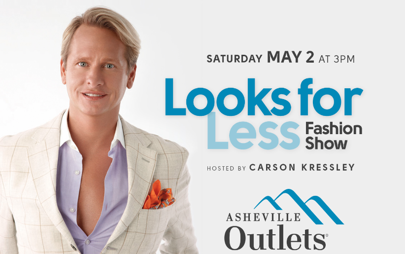 Carson Kressley, former 'Queer Eye' star, to host Asheville Outlets event