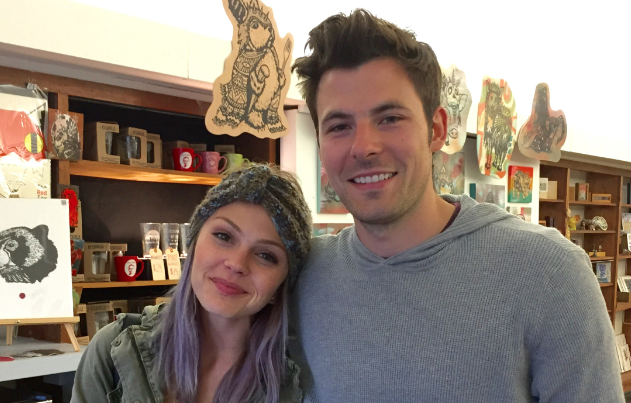 Ashvegas celebrity spotting: 'Friday Night Lights' star Aimee Teegarden at Horse + Hero