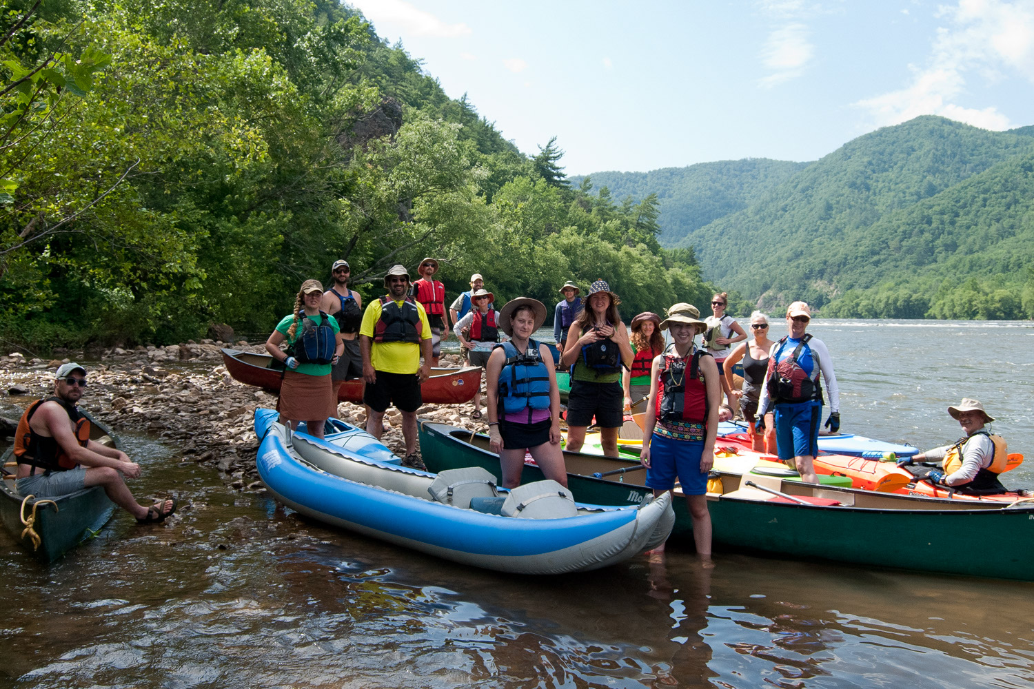 Ashvegas Hot Sheet: MountainTrue taking reservations for annual French Broad Float