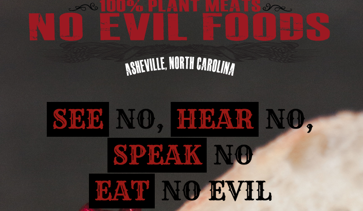 No Evil Foods in Asheville joins coalition in support of plant-based diets