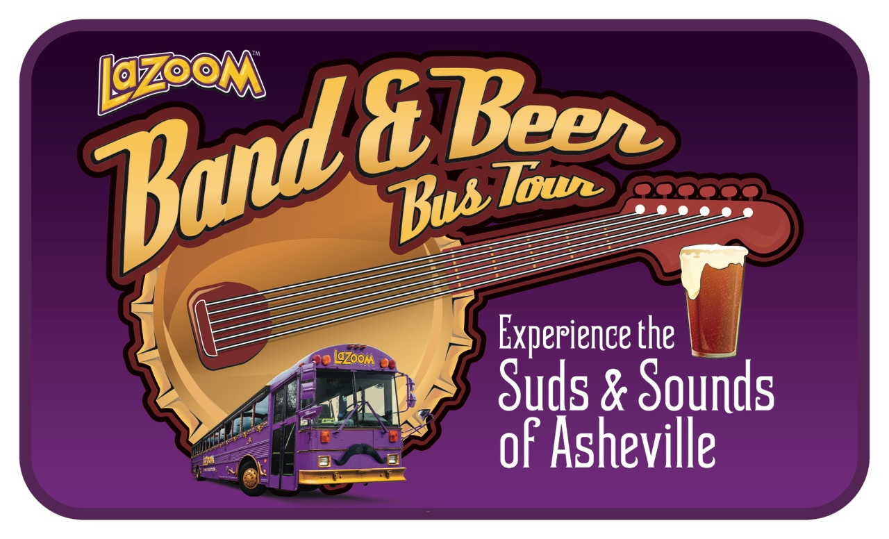 LaZoom, Asheville's comedy bus tour, introduces 'Band & Beer Bus Tour'