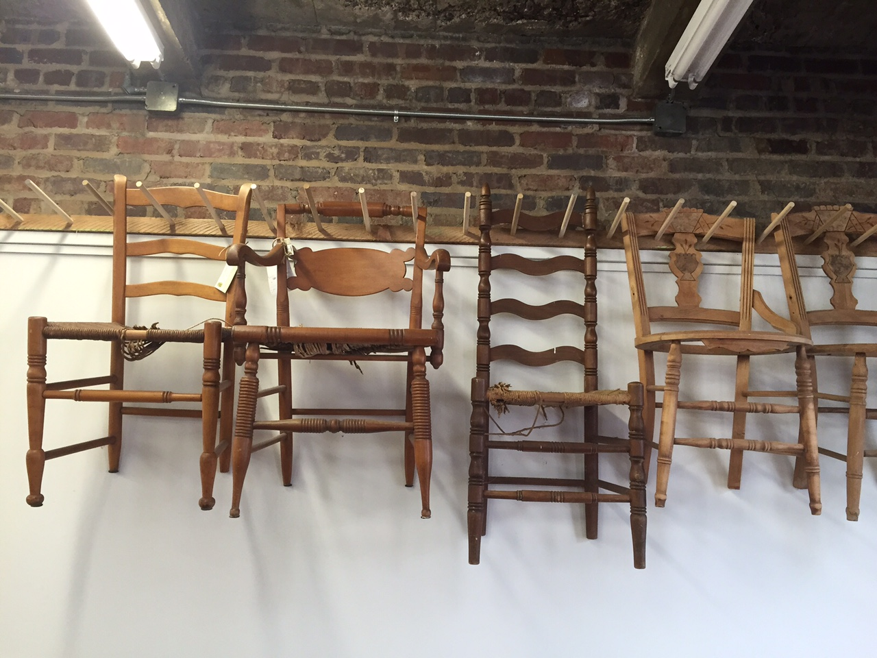 In Asheville's River Arts District, a unique chair caning school and museum