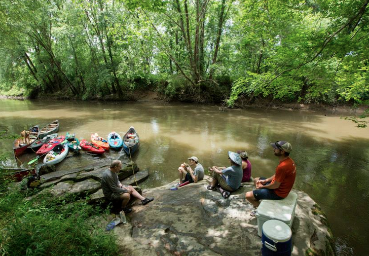 Reset and renew with a tour along the French Broad Paddle Trail