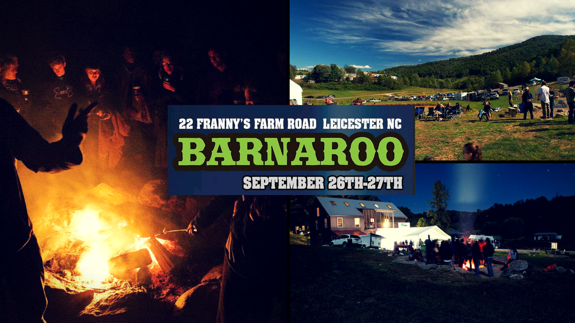 Les Amis, Lyric, Red Honey and more set for Barnaroo 2015 at Franny's Farm in Leicester