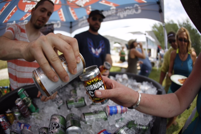 Updated: N.C. ALE pours cold water on Burning Can beer fest in Brevard, but party goes on