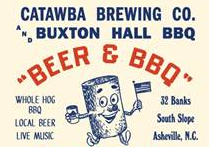 Buxton Hall Barbecue, Catawba Brewing team for July Fourth cookout on the South Slope