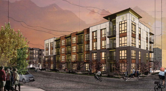 Updated: Patton Place, new 116-unit apartment complex in downtown Asheville, gets early approval