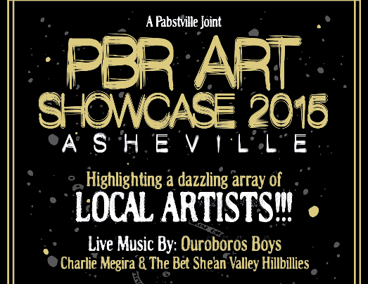 PBR in Asheville sponsors doggie event at Public School, art show at The Mothlight