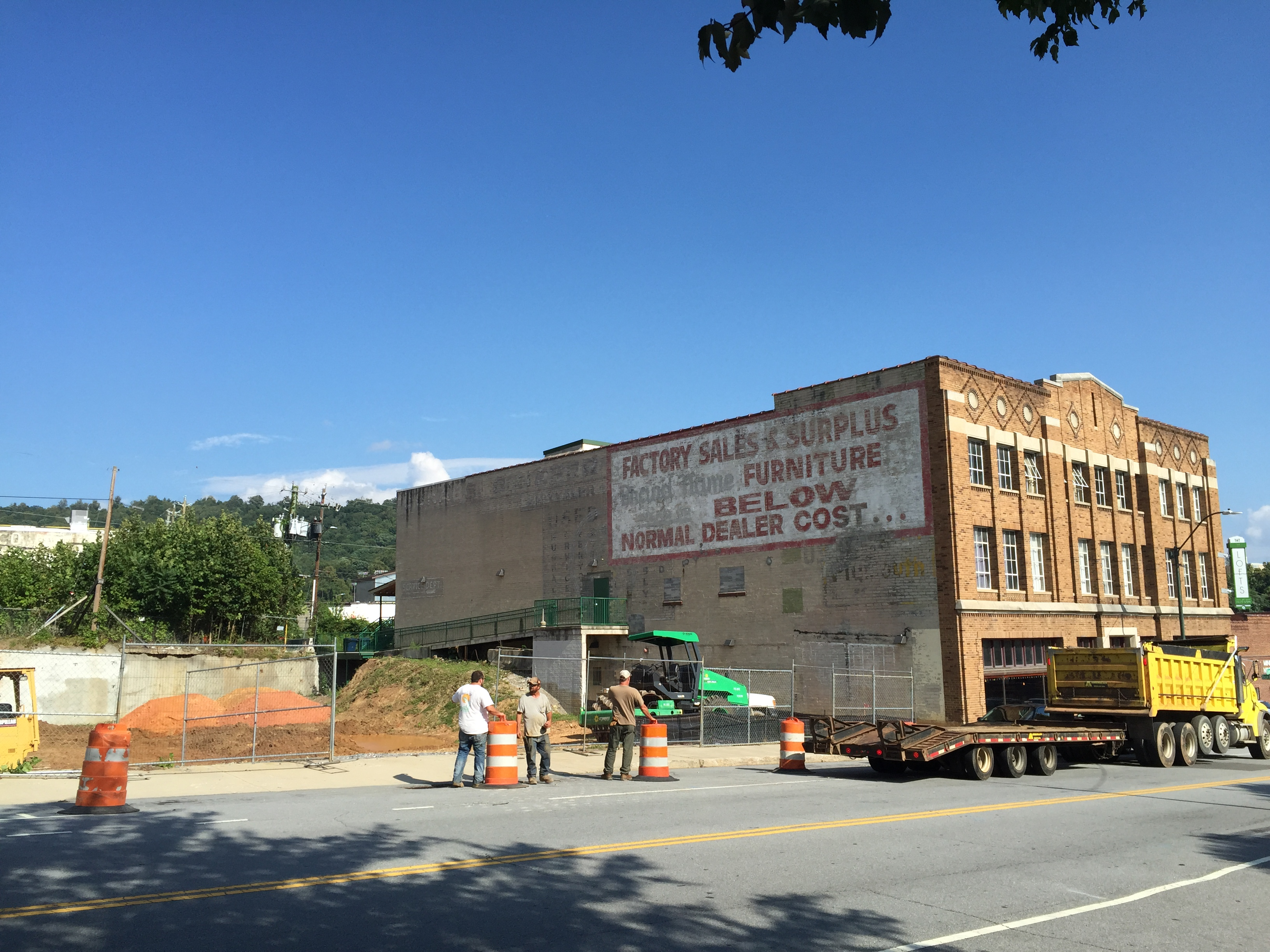 Construction finally begins at 'the pit' on downtown Asheville's South Slope