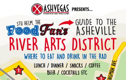 Stu Helm: Food Fan – FOOD MAP – Asheville's RAD
