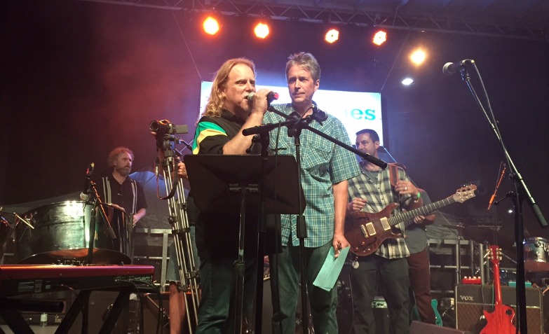 PHOTOS: Musical stars come out in support of Brian Haynes for Asheville City Council