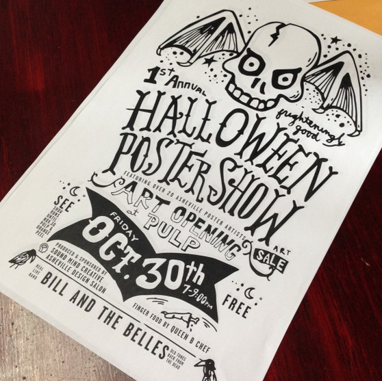 Halloween Poster Show set for The Orange Peel in Asheville