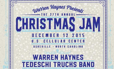 Asheville's Christmas Jam line-up announced: Warren Haynes, Tedeschi Trucks Band, The Doobie Brothers, more