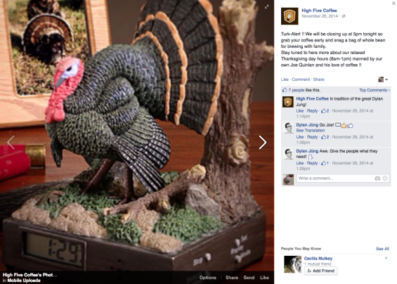 """""""Possibly Turkey"""" –  Where to Eat and Drink in Asheville on Thanksgiving Day"""