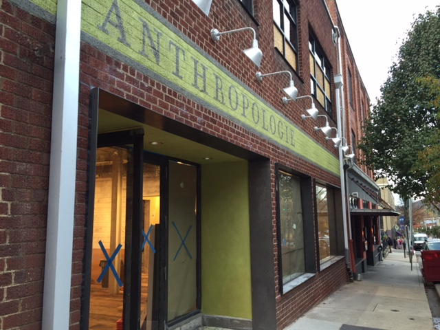Anthropologie speeds toward projected Nov. 20 opening in downtown Asheville