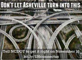 Asheville Design Center seeks volunteers to staff I-26 Connector public hearing
