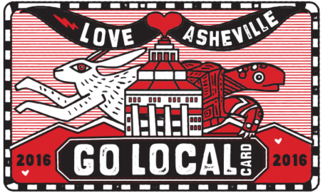 The Asheville Grown Go Local Card sign-up for local businesses deadlines today
