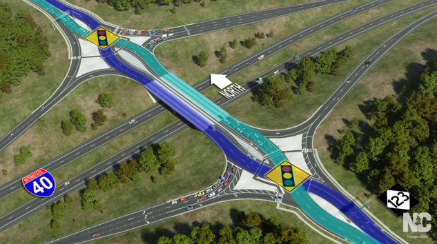 Interstate work will close Airport Road in South Asheville this weekend
