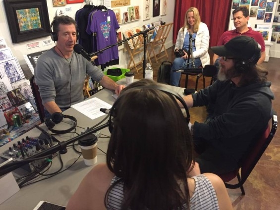 "PODCAST: Stu Helm / Chef Joe Scully: AVL Food Fans 15 – ""Gluten and Copyright Free"""
