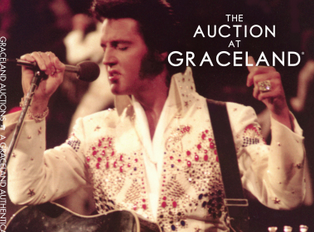 Guitar that Elvis gave to a fan during 1975 Asheville concert up for auction