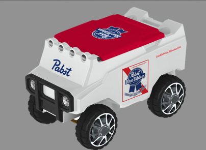Win a PBR remote control cooler at Banks Ave bar Super Bowl party in Asheville