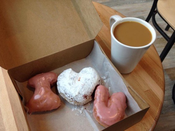 HOT DOGS AND DOUGHNUTS: Happy Valentine's Day, Asheville